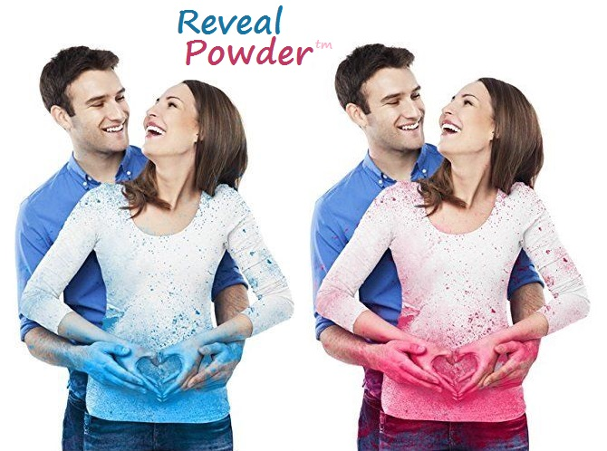 gender reveal powder holi color